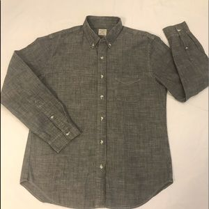 J. Crew Men's Chambray Shirt